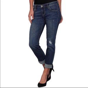Kut From The Kloth Boyfriend Distressed Jeans 12